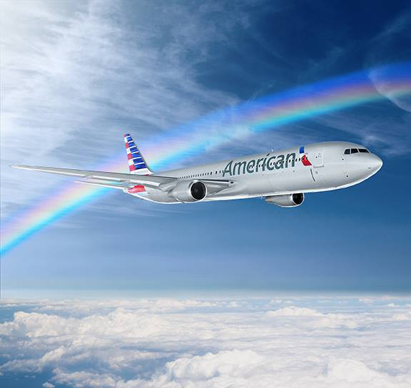 American Airlines celebra el mes del orgullo gay