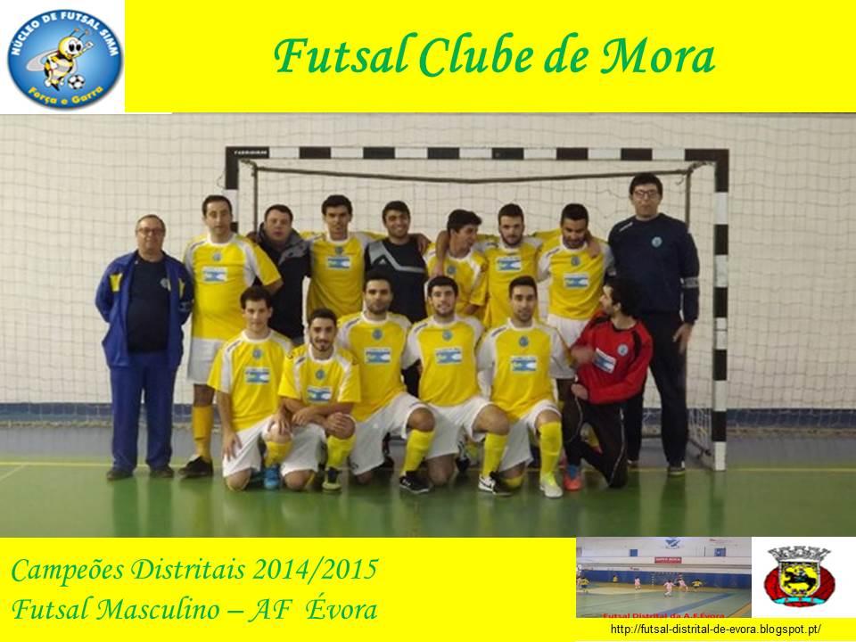 Galeria dos Campeões - Futsal Clube de Mora - Campeonato Distrital 2014 2015 790af32f298d3