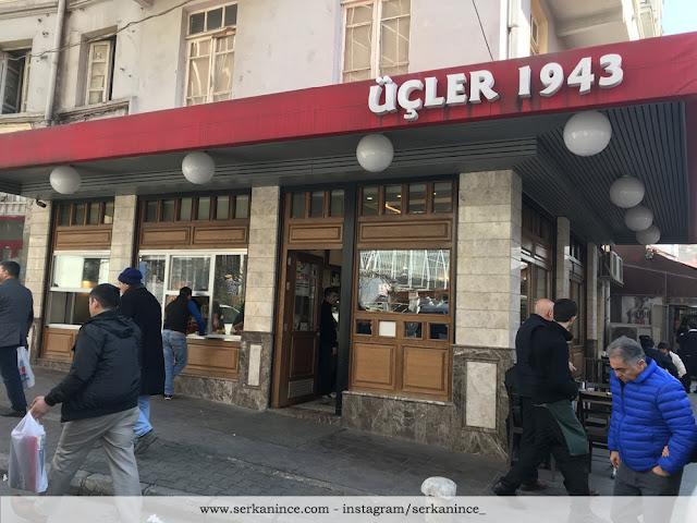 Tarihi Üçler Lokantası Ulus Ankara