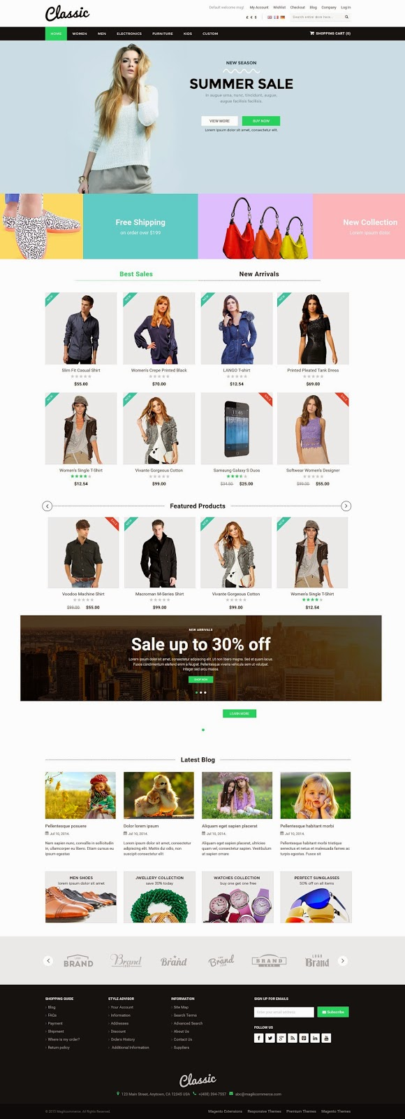 Best Multipurpose Magento Theme 2015