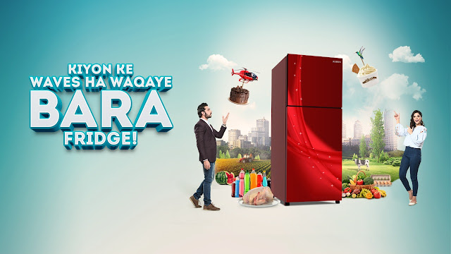 "Waves launched their latest ""Waqaye Bara Fridge"""
