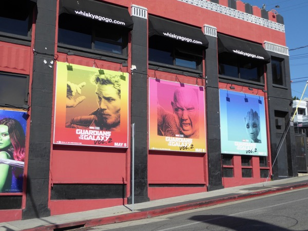Guardians of the Galaxy 2 billboards