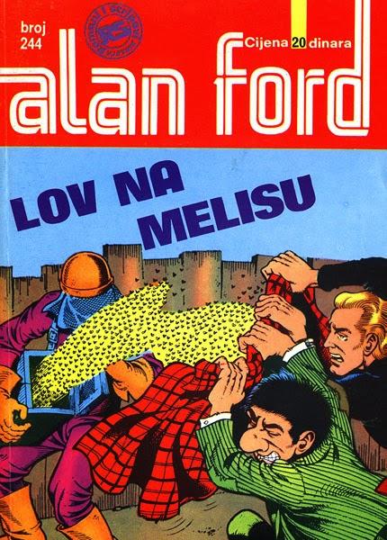 Lov na Melisu - Alan Ford