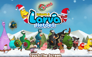 Larva Heroes 2 : X-Mas 1.2.4 MOD Apk Data Unlimited Gold and Candy
