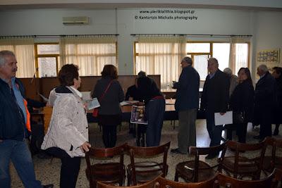Τα αποτελέσματα των εκλογών των Συνταξιούχων του ΙΚΑ Πιερίας.