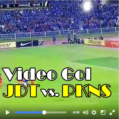 gol piala fa,piala fa 2016, jdt vs pkns, keputusan piala fa 2016