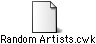 An AppleWorks file with a generic icon
