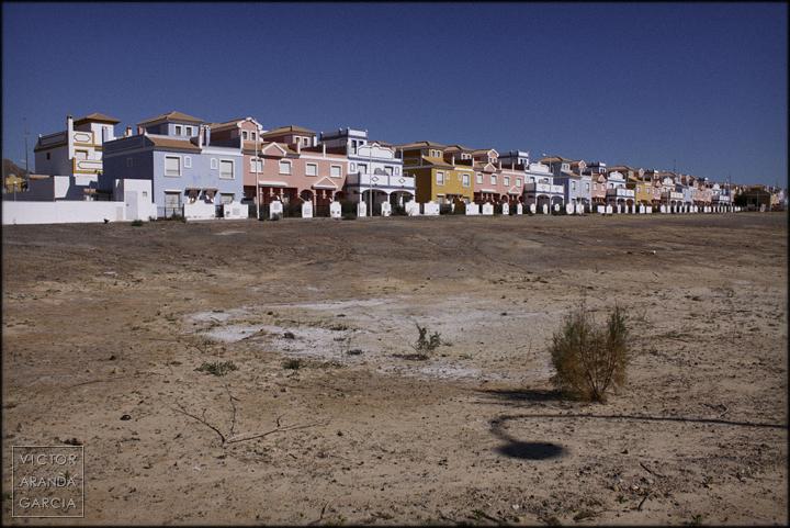 fotografía, Almería, Arriba Extraña, arquitectura, paisaje, adosados