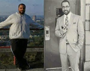 White and Black men take Skinny Fiber for weight loss!