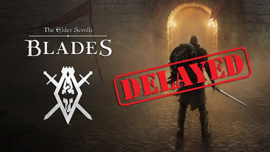 the elder scrolls blades delayed 2019 bethesda
