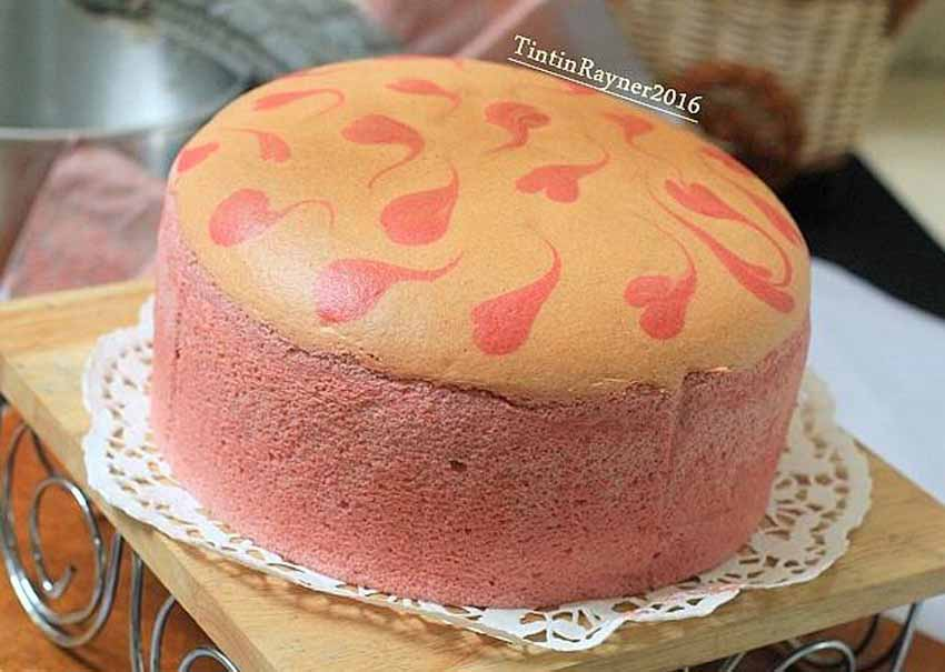 Resep Ogura Cake Strawberry Yoghurt Cottony Cake With Fresh Strawberry