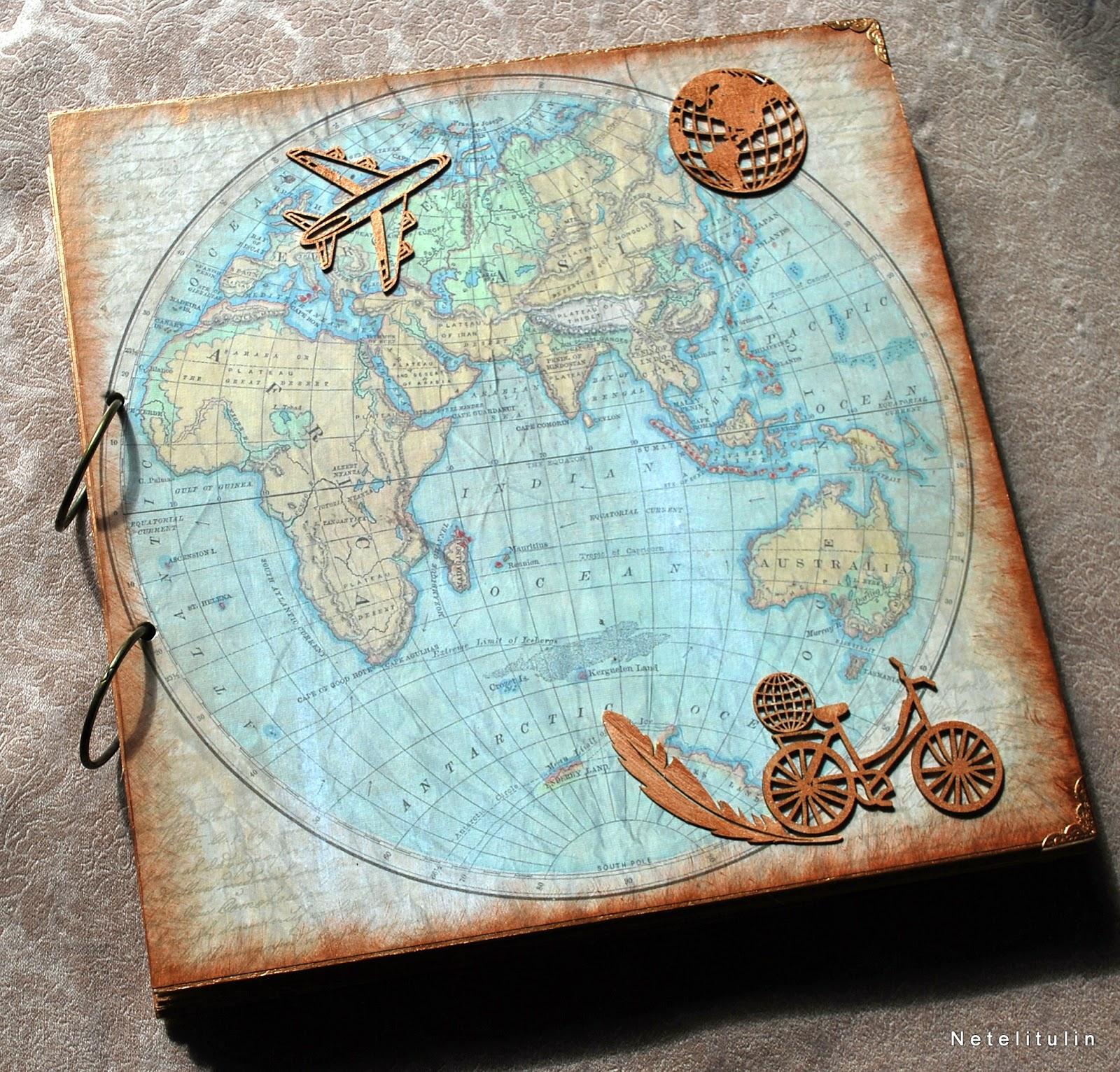 Красивые, открытка путешественнику скрапбукинг