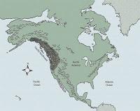 Territorio de Cascadia en América del Norte