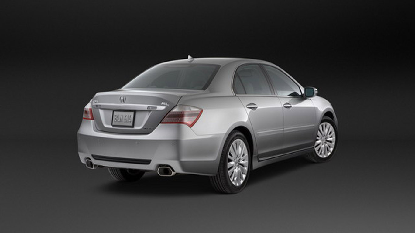 Acura RL 2012: Abundant Luxury And Technology