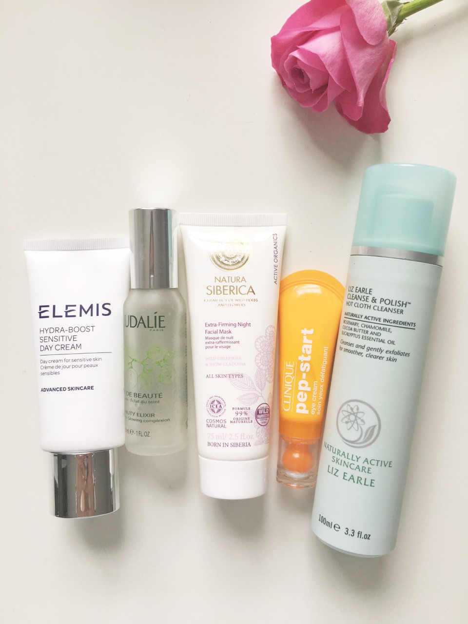 skincare, everyday routine, beauty, blogger, natural, products, space nk, elemis, beauty, skin, clinique, caudalie, liz earle,