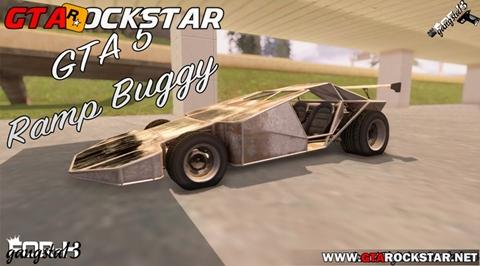 GTA SA - Mod Ramp Buggy Convertido do GTA V