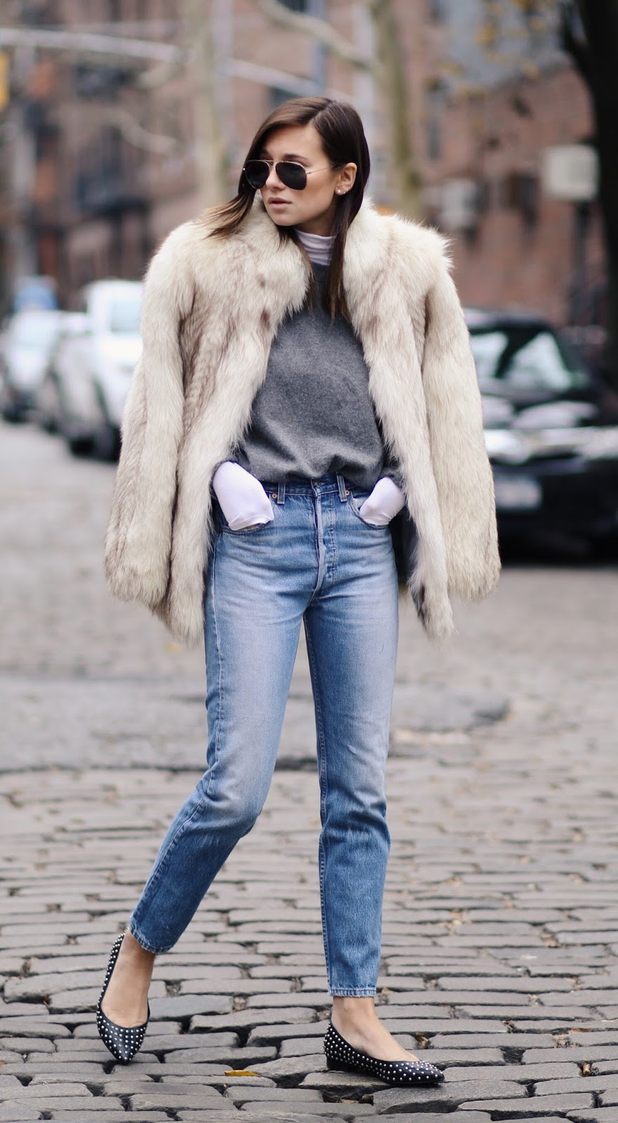 Fuzzy Winter Women Fashion Trends 2016
