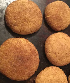 snickerdoodle recipe, pumpkin recipes, Pumpkin snickerdoodles