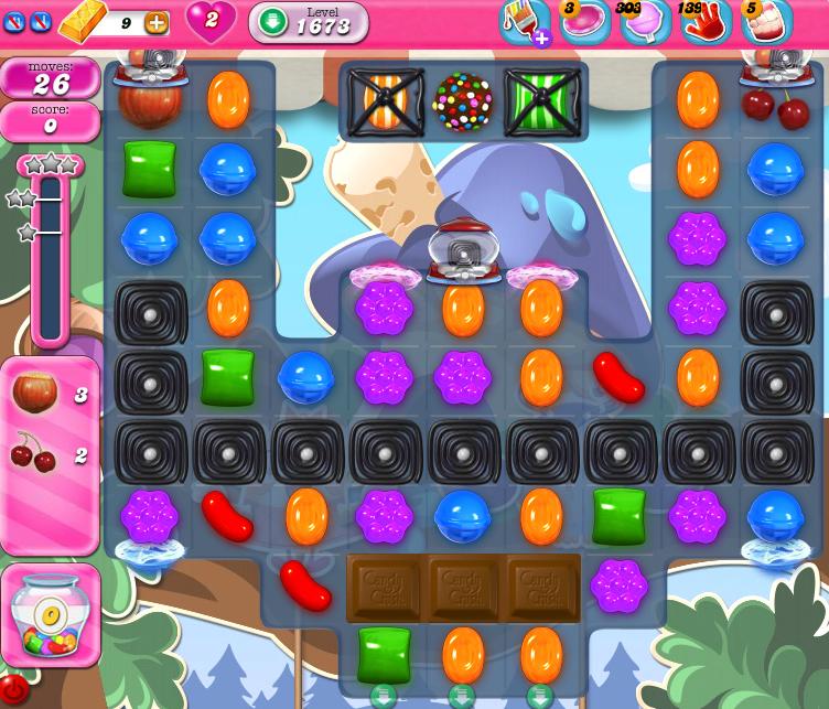 Candy Crush Saga 1673