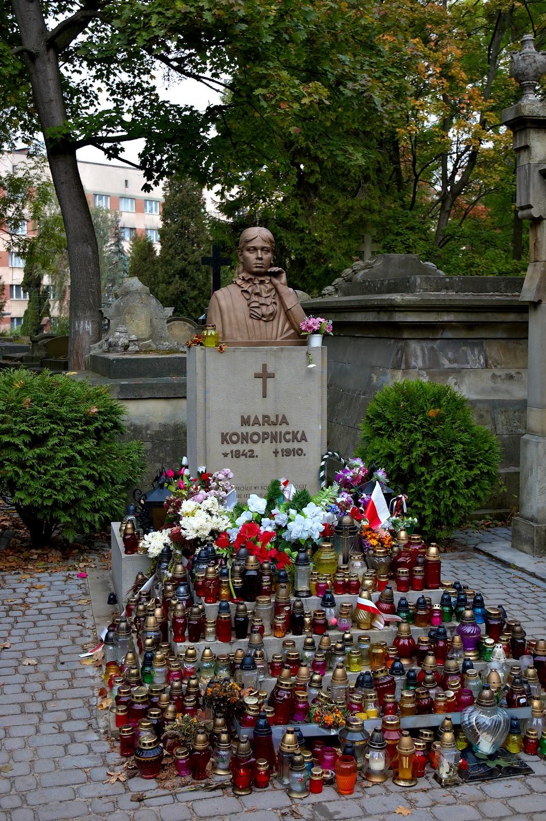 Maria Konopnicka grób we Lwowie