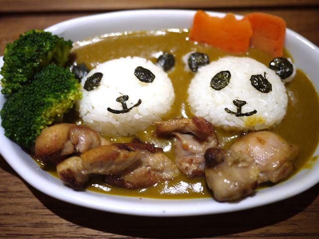P1280036 - 熱血菜訪│台中福科路美食-艾蒂兒時尚廚房療癒系的熊貓咖哩飯(已歇業)