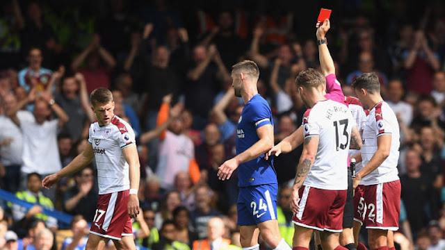 Bermain Dengan 9 orang, Chelsea Dikalahkan Burnley 2-3
