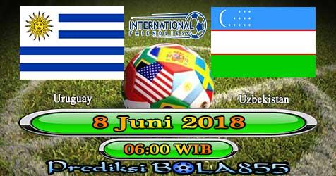 Prediksi Bola855 Uruguay vs Uzbekistan 8 Juni 2018