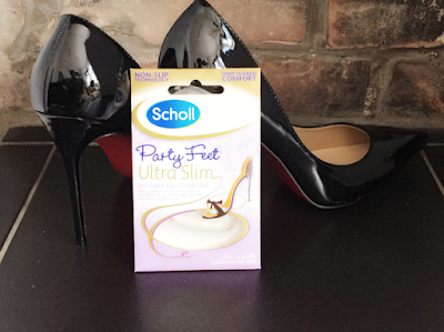 Scholl Party Feet Ultra Slim, Party Feet, Invisible Gel Cushion, High heels, Keeping Feet Fresh in Summer