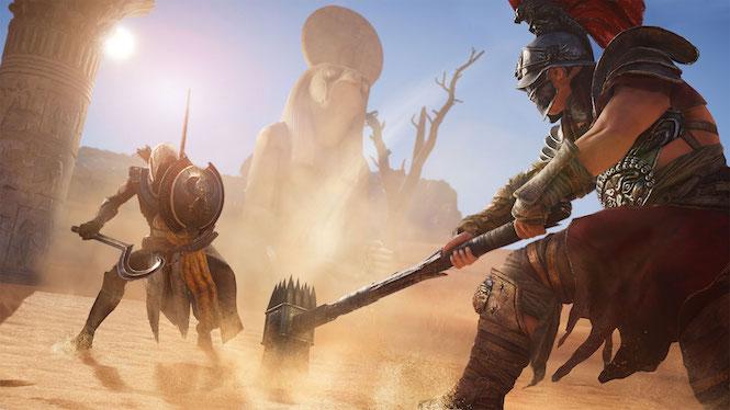 Las pantallas de carga de Assassin's Creed Origins esconderán mensajes ocultos