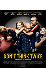 Don't Think Twice (2016) BDRip 1080p Latino AC3 5.1 / ingles DTS 5.1