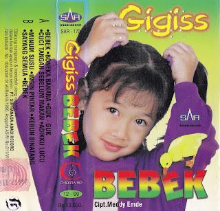 gigiss album bebek www.sampulkasetanak.blogspot.co.id