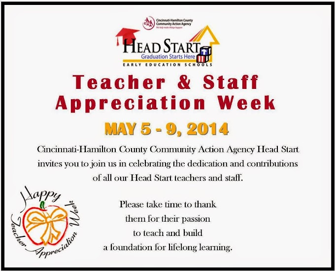 2014 Teacher & Staff Appreciation Week