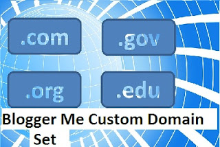 Blogger Me Custom Domain Set kare