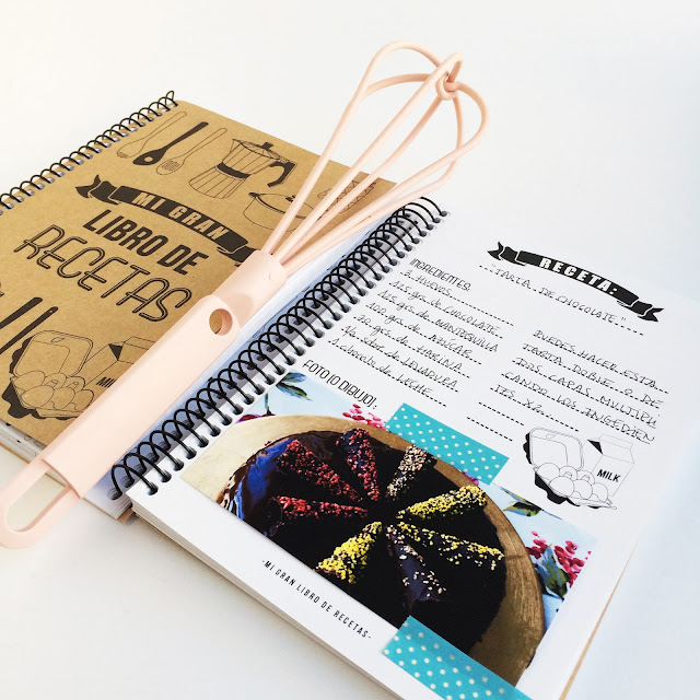 libro de recetas tarta de chocolate