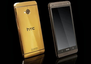 HTC One Gold Plated Edition luxury expensive Smartphone