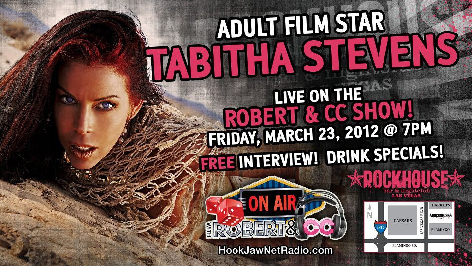 Adult Film Star Tabitha Stevens On Air With Robert Cc Come Party With Them