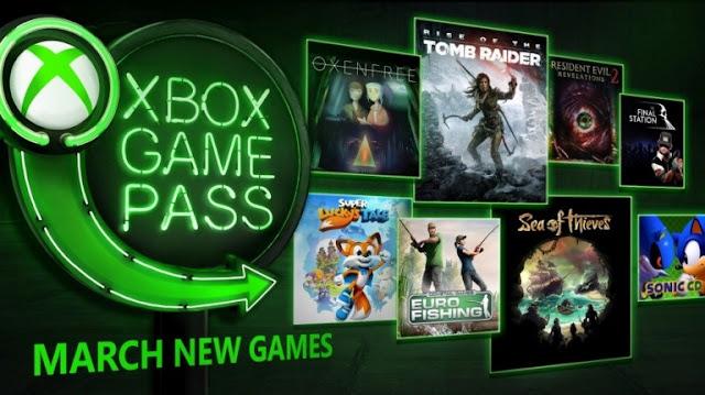 الكشف عن قائمة ألعاب خدمة Xbox Game Pass لشهر مارس 2018 و مفاجئة لكل اللاعبين على Xbox One