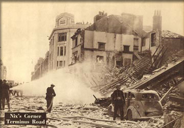 22 November 1940 worldwartwo.filminspector.com Eastbourne Blitz damage