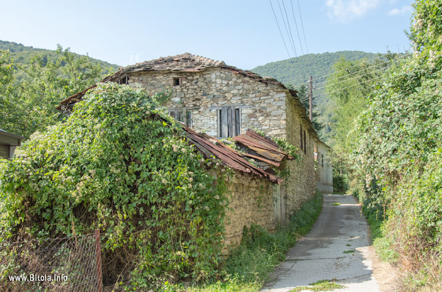 Orehovo village near Bitola, Macedonia