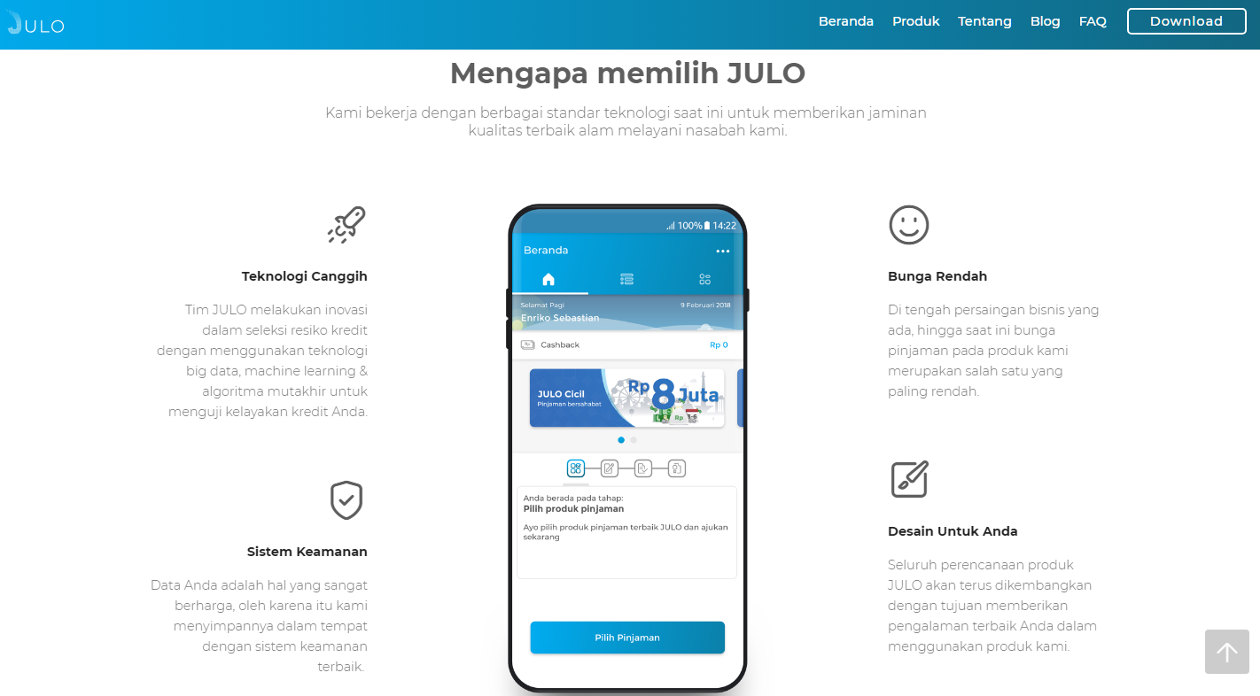 Aplikasi Pinjaman Online Julo Pinjol