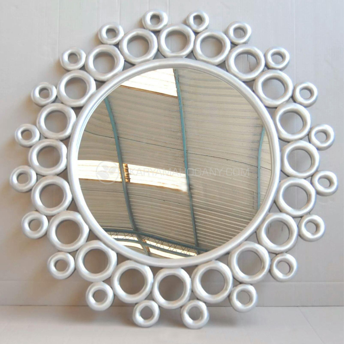 Figura Cermin Bundar | Harga Pigura Minimalis Jepara