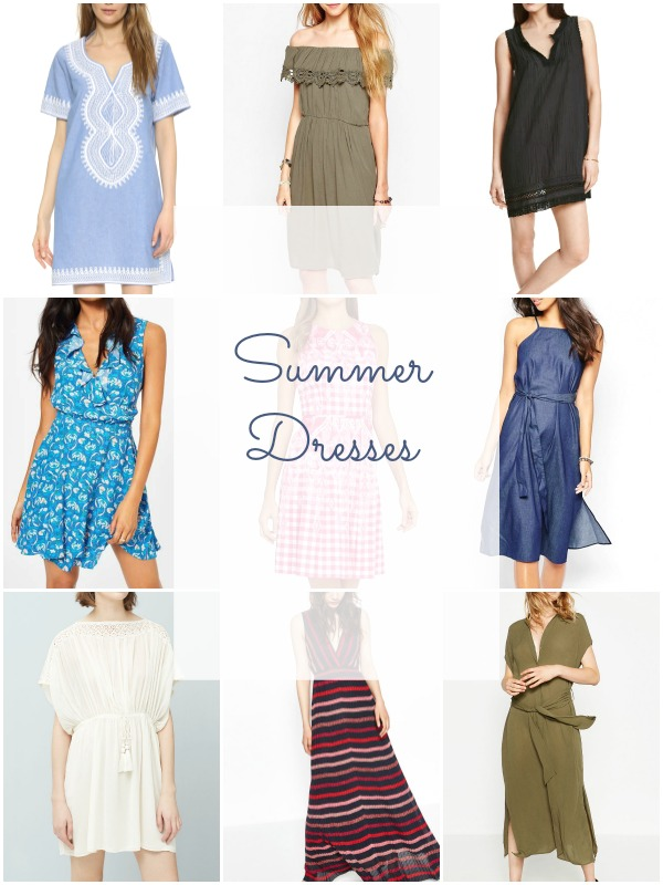 Summer dresses shopping picks - Ioanna's Notebook