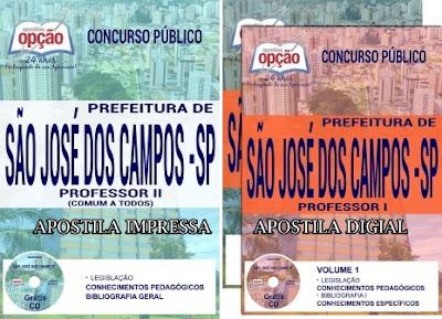 Apostila Prefeitura de São José dos Campos (processo seletivo SJC)
