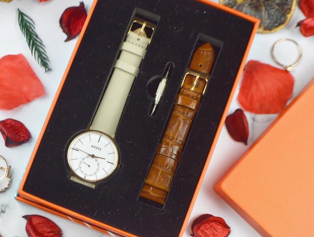 Adexe Petite Freerunner Watch in SnowWhite, Lovelaughslipstick Blog review