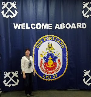 welcome aboard ship