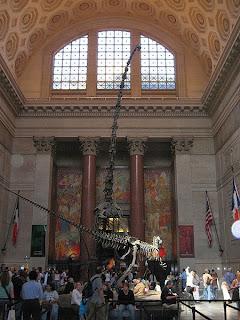 Entrada do Museu de História Natural de Nova Iorque