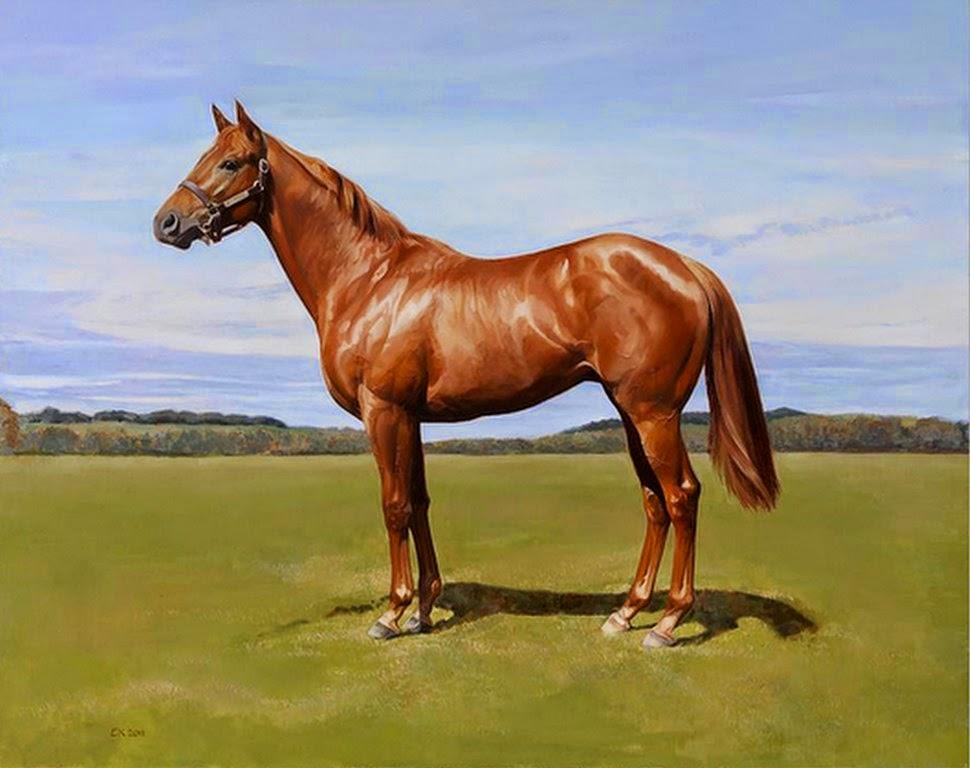 paisaje-con-caballos-al-oleo