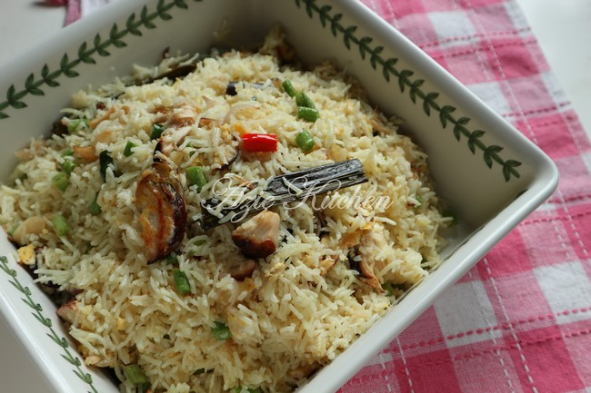 Nasi Goreng Nasi Ayam Yang Teramat Sedap Azie Kitchen