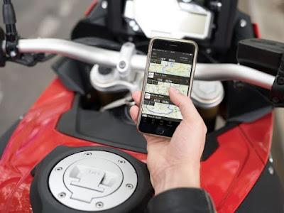 Συνεργασία της BMW Motorrad με την εταιρία τεχνολογίας κινητών τηλεφώνων Rever