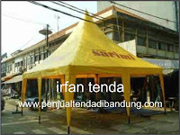 penjual tenda event kerucut di bandung, distributor tenda kerucut di bandung.